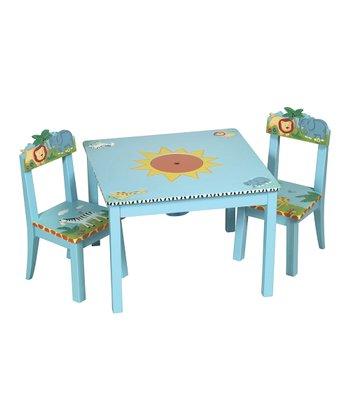 Safari Table & Chair Set