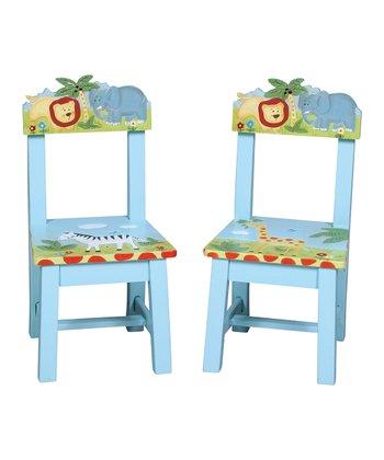 Guidecraft Safari Chair Set