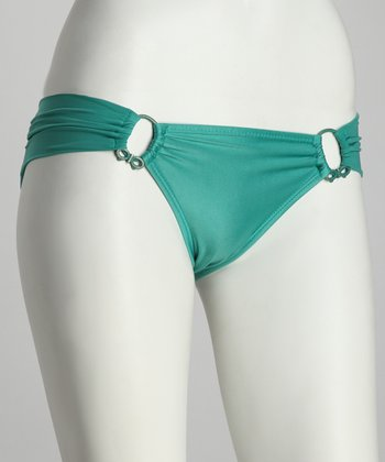Green Pacific Ring Bikini Bottoms