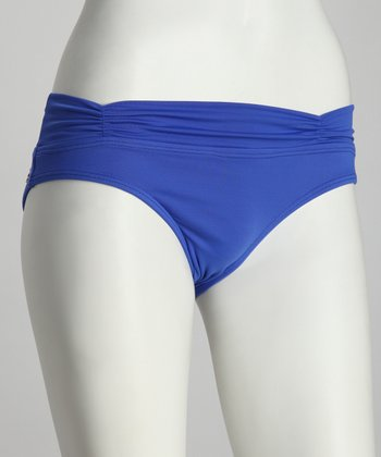 Blue Pacific Fold-Over Bikini Bottoms