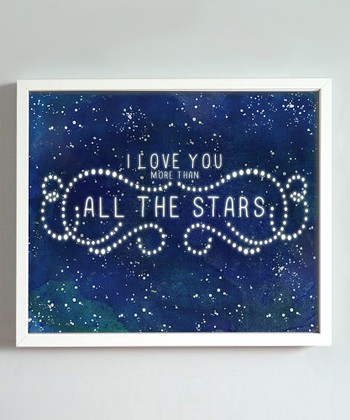 Midnight Blue 'All the Stars' Print