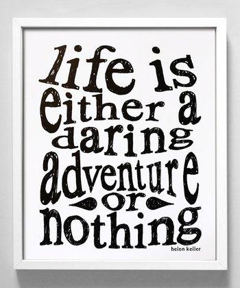 'Daring Adventure' Print