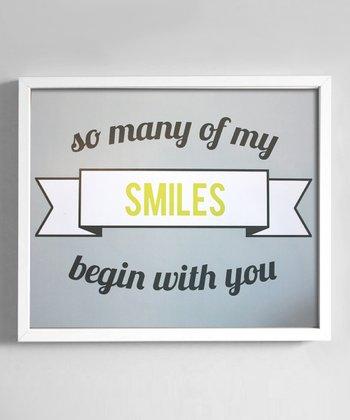 'Smiles' Print