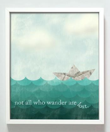'Wander' Print