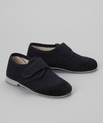 Navy & Black Montato Loafer