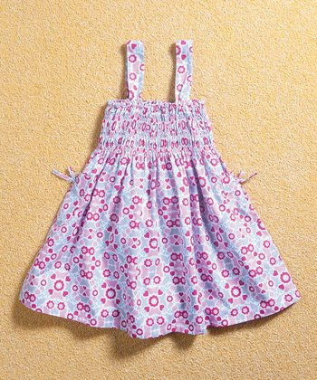 Pink Whimsy Smocked Dress - Infant, Toddler & Girls