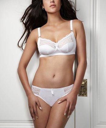 Intuition White Bikini Briefs - Women
