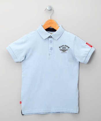 Pale Blue Polo - Infant
