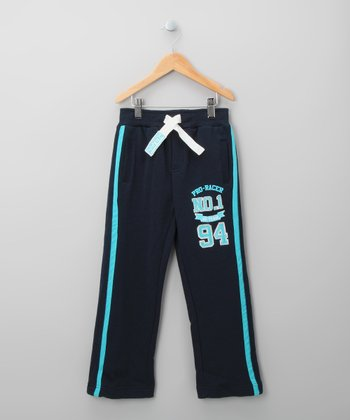 Navy Track Pants - Infant
