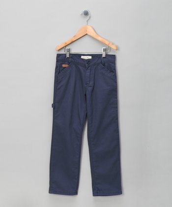 Navy Straight-Leg Pants - Infant, Toddler & Boys