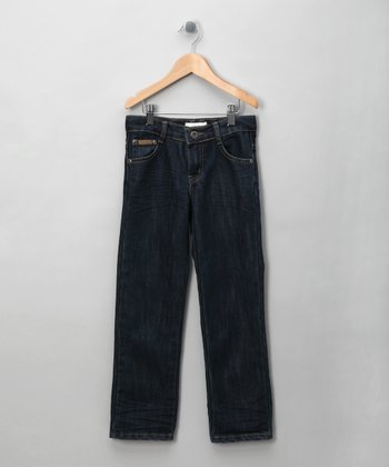Dark Wash Straight-Leg Jeans - Infant, Toddler & Boys