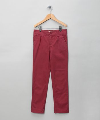 Mulberry Straight-Leg Pants - Boys