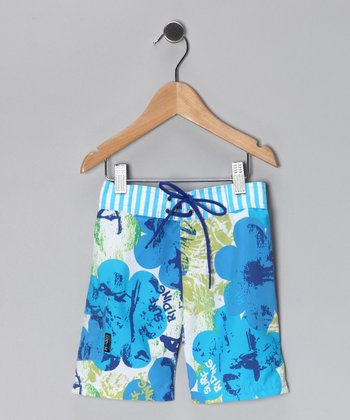 Green Room Boardshorts - Infant