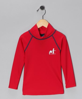 Red Rashguard - Infant, Toddler & Kids