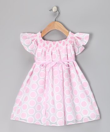 Pink Polka Dot Dress - Infant & Girls