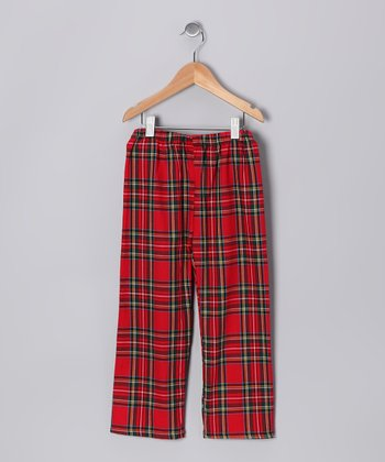Red Plaid Pants - Infant, Toddler & Boys
