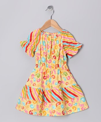 Yellow Chick Boutique Peasant Dress - Infant, Toddler & Girls