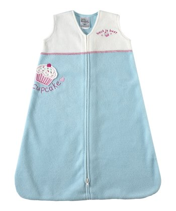 Turquoise Cupcake Color Block HALO SleepSack
