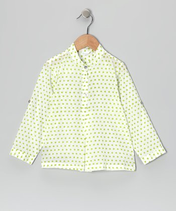 Datta Green Grandad Shirt - Infant & Kids
