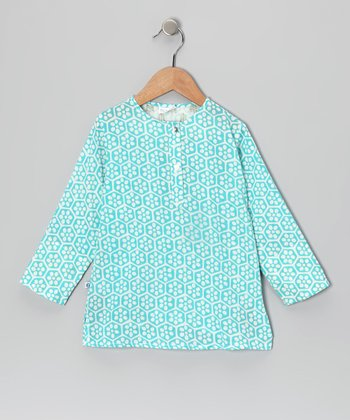 Beehive Blue Tunic - Infant, Toddler & Girls