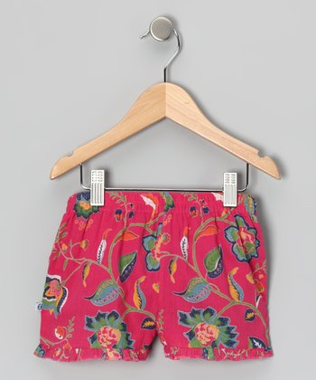 Java Azalea Frill Shorts - Infant & Girls