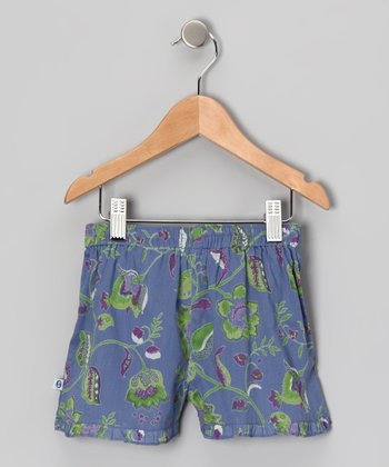Java Purple Frill Shorts - Infant