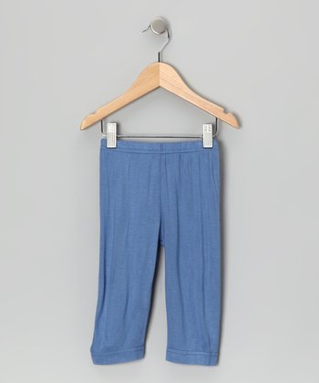 Medieval Blue Capri Pants - Toddler & Girls