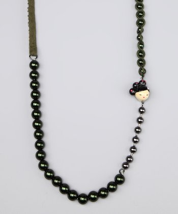 Love Character Beaded Necklace