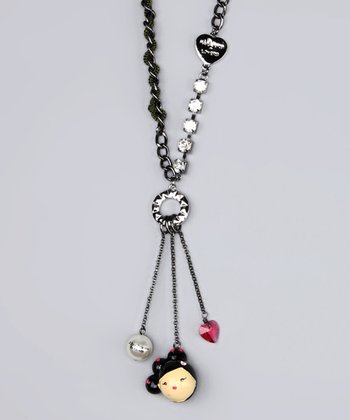 Love Character Drop Necklace