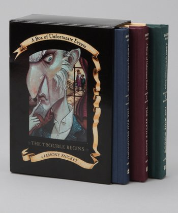 A Series of Unfortunate Events Books I-III Boxed Set