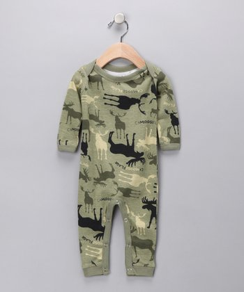 Green Moose Playsuit