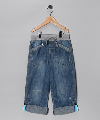 Vintage Blue Lightweight Relaxed Jeans - Toddler & Boys