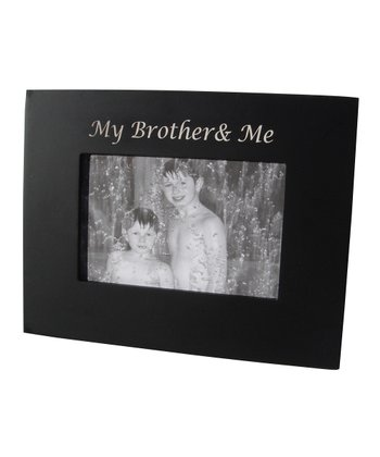 Black 'My Brother & Me' Frame