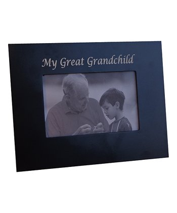 Black 'My Great Grandchild' 4'' x 6'' Frame