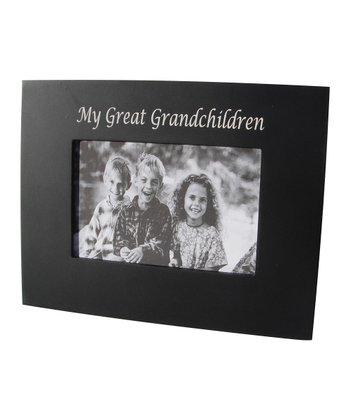 Havoc Gifts Black 'Great Grandchildren' Frame