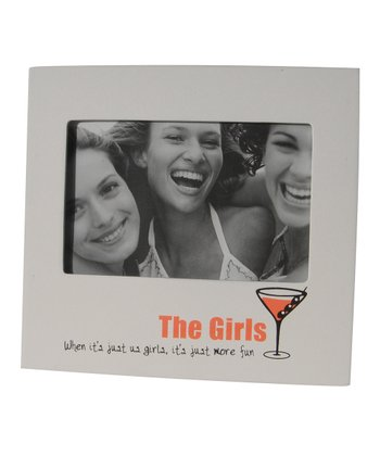 White 'The Girls' Icon Frame