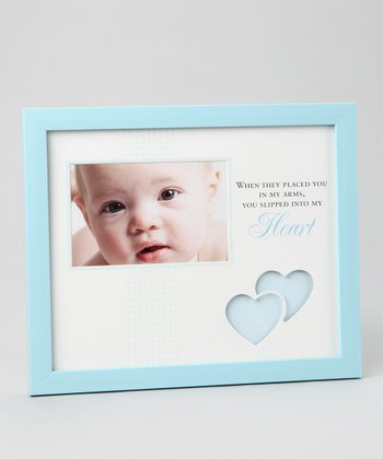 Blue 'Into My Heart' 4'' x 6'' Frame