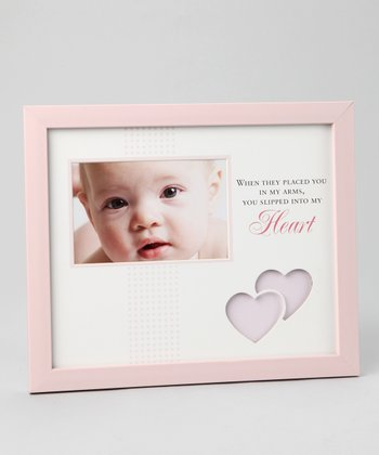 Pink 'Into My Heart' 4'' x 6'' Frame