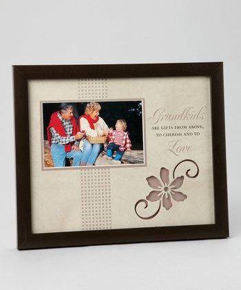Havoc Gifts Brown 'Grandkids' Frame