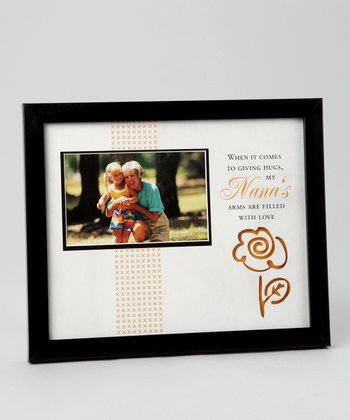 Black & Orange 'Nana' Frame