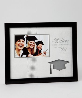 Black & Gray Graduation 4'' x 6'' Frame