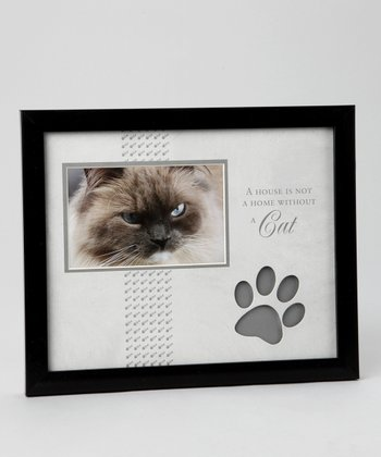 Black & Gray 'Cat' 4'' x 6'' Frame