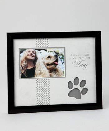Black & Gray 'Dog' 4'' x 6'' Frame