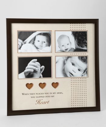 Brown Baby Collage 4'' x 6'' Frame
