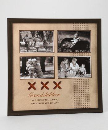 Havoc Gifts Brown 'Grandchildren' Collage Frame