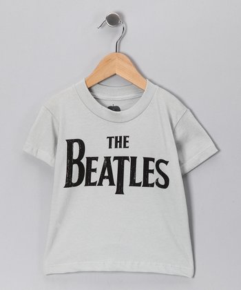 Silver 'Beatles' Tee - Toddler & Kids