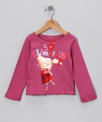 Plum 'So Glamorous' Tee - Toddler