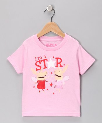 Pink 'I'm A Star' Tee - Toddler & Girls