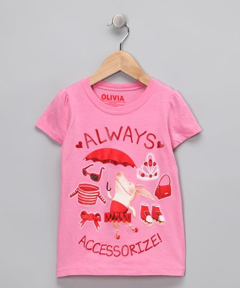 Olivia 'Always Accessorize' Tee - Girls
