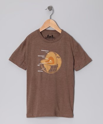 Brown Chocolate Earth Tee - Toddler & Boys